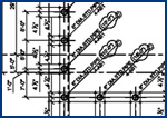 Steel detailing,  steel shop detailing drawings for steel industry